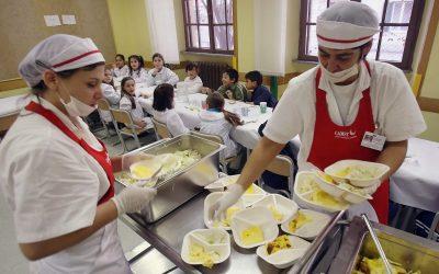 Manipulador de Alimentos en Comedores Escolares