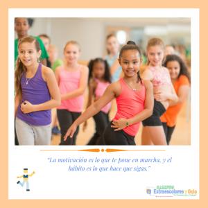 Monitor de Aerobic musical  infantil como Actividad Extraescolar